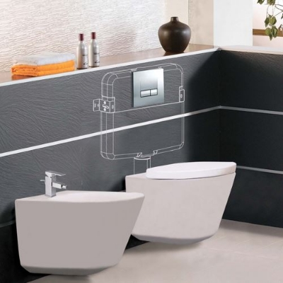 Slim Concealed Cistern   Jaquar