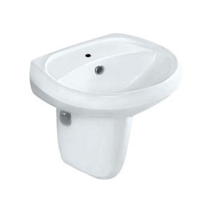 Picture of Wall Hung Basin with half pedestal