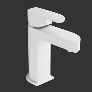 Picture of Single Lever Basin Mixer-White Matt