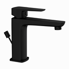 Picture of Single Lever Basin Mixer with Popup Waste - Black Matt