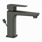Picture of Single Lever Basin Mixer with Popup Waste -  Graphite