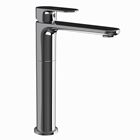 Picture of Single Lever High Neck Basin Mixer - Black Chrome