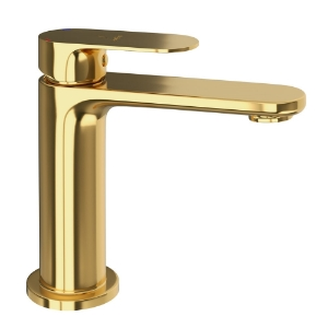 Picture of Single Lever Basin Mixer -Full Gold