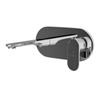 Picture of Exposed Part Kit of Single Lever Basin Mixer Wall Mounted - Black Chrome