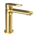 Picture of Single Lever Basin Mixer - Full Gold