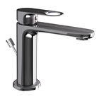 Picture of Single Lever Basin Mixer with Popup - Black Chrome