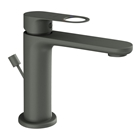 Picture of Single Lever Basin Mixer with Popup -Graphite