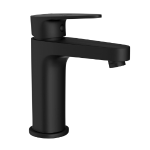 Picture of Single Lever Basin Mixer - Black Matt