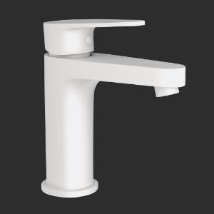 Picture of Single Lever Basin Mixer - White Matt