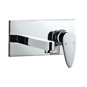 Picture of Exposed Part Kit of Single Lever Basin Mixer Wall Mounted - Chrome