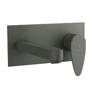 Picture of Exposed Part Kit of Single Lever Basin Mixer Wall Mounted - Graphite