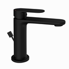 Picture of Single Lever Basin Mixer with Popup Waste -Black Matt