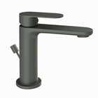 Picture of Single Lever Basin Mixer with Popup Waste -Graphite