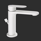 Picture of Single Lever Basin Mixer with Popup Waste -White Matt
