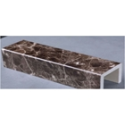 Picture of Dark Grey Mesh Artificial Marble Ledge