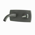 Picture of Exposed Part Kit of Joystick Basin Mixer Wall Mounted - Graphite