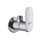 Picture of Angle Valve with Wall Flange - Chrome