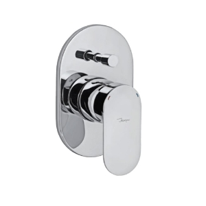 Picture of Single Lever Exposed Part Kit of Hi-Flow Diverter - Chrome