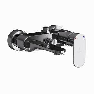 Picture of Single Lever Bath & Shower Mixer - Black Chrome