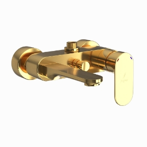 Picture of Single Lever Bath & Shower Mixer - Full Gold