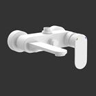Picture of Single Lever Bath & Shower Mixer - White Matt