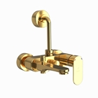 Picture of Single Lever Wall Mixer 3-in-1 System - Full Gold