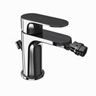 Picture of Single Lever Bidet Mixer with Popup Waste - Black Chrome