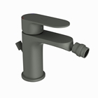 Picture of Single Lever Bidet Mixer with Popup Waste - Graphite