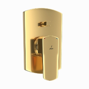Picture of Single Lever Concealed Diverter - Full Gold