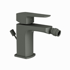 Picture of Single Lever 1-Hole Bidet Mixer with Popup Waste System - Graphite