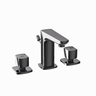 Picture of 3-Hole Basin Mixer - Black Chrome