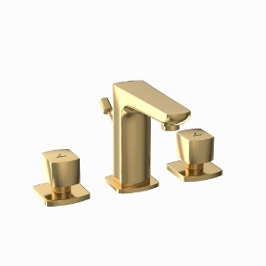 Picture of 3-Hole Basin Mixer - Full Gold