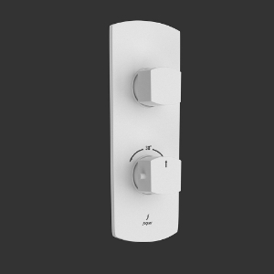 Picture of Thermostatic Shower Mixer - White Matt