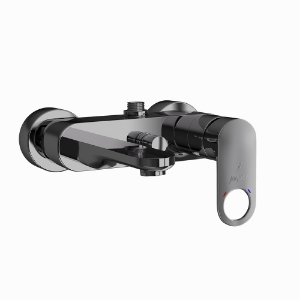 Picture of Single Lever Wall Mixer - Black Chrome