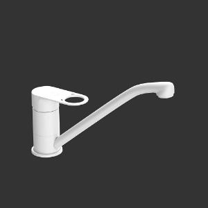Picture of Single Lever Sink Mixer - White Matt