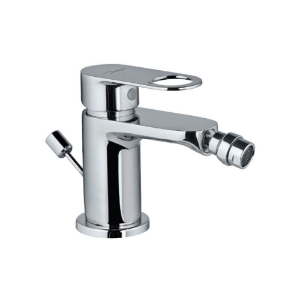 Picture of Single Lever 1-Hole Bidet Mixer with Popup Waste System - Chrome