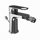 Picture of Single Lever 1-Hole Bidet Mixer with Popup Waste System - Black Chrome