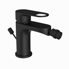 Picture of Single Lever 1-Hole Bidet Mixer with Popup Waste System - Black Matt
