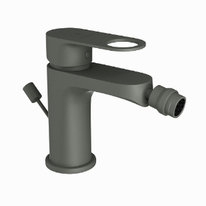 Picture of Single Lever 1-Hole Bidet Mixer with Popup Waste System -Graphite