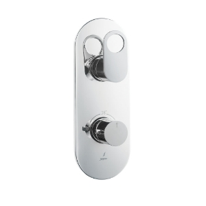 Picture of Aquamax Exposed Part Kit of Thermostatic Shower Mixer - Chrome