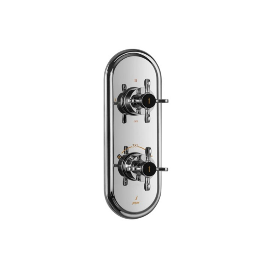 Picture of Aquamax Exposed Part Kit of Thermostatic Shower Mixer with 3-way diverter