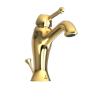 Picture of Single Lever Basin Mixer with Popup Waste - Full Gold