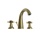 Picture of 3-Hole Basin Mixer with Popup Waste System - Antique Bronze