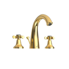 Picture of 3-Hole Basin Mixer with Popup Waste System - Full Gold