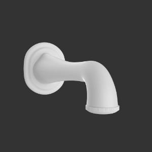 Picture of Bath Tub Spout -  White Matt