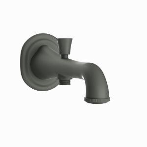 Picture of Bath Tub Spout with Button attachment - Graphite