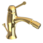 Picture of Single Lever 1-Hole Bidet Mixer with Popup Waste System - Full Gold