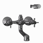 Picture of Wall Mixer - Black Chrome