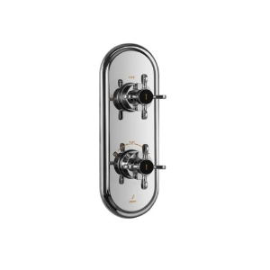 Picture of Aquamax Exposed Part Kit of Thermostatic Shower Mixer with 2-way diverter - Chrome