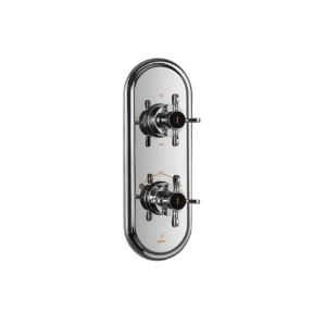 Picture of Aquamax Exposed Part Kit of Thermostatic Shower Mixer with 3-way diverter - Chrome